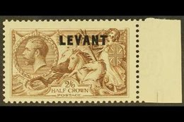 BRITISH CURRENCY   1921 2s6d Chocolate Brown, SG L24, Never Hinged Mint For More Images, Please Visit Http://www.sandafa - Brits-Levant