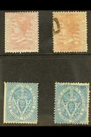 1860-1865 Sterling Currency Small Selection Comprising British Columbia & Vancouver Island 1860 2½d Reddish Rose Mint An - British Columbia