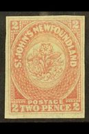 1862 2p Rose Lake, SG 17, Very Fine Mint With Clear Even Marginas All Round. For More Images, Please Visit Http://www.sa - Newfoundland And Labrador