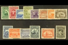 1897 Discovery Set, SG 66/79, Fresh Mint But Heavily Hinged. Lovely Appearance. Cat £325. (14 Stamps) For More Images, P - Newfoundland And Labrador