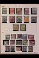1919-1937 ATTRACTIVE FINE MINT COLLECTION In Hingeless Mounts On Leaves, ALL DIFFERENT, Includes 1919 Caribou Set, 1923- - Newfoundland And Labrador