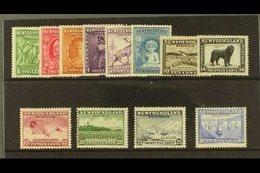 1932 Pictorials Complete Set, SG 209/220, Fine Mint. (12 Stamps) For More Images, Please Visit Http://www.sandafayre.com - Newfoundland And Labrador
