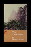 1963 Landscapes Of Hwangshan PRESENTATION FOLDER With The Complete Unused Set Partially Affixed Within. Illustrated With - Unclassified
