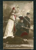 CPA - L'ennemi Vient Dans Un éclair; Chargez, Soldats, Et Sabre Au Clair - Guerre 1914-18
