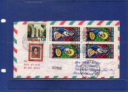 ##(DAN197)-Venezuela 1972-Registered Air Mail Cover To  Christmas Island, Retour To Sender To Firenze-Italy - Venezuela