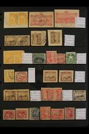 POSTMARKS COLLECTION OF STRIKES On 1875-99 Issues Or On 2c Postal Stationery Cut-outs, We See Hamakuapoku, Hana P.O., Hi - Hawaii
