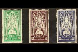 1937 St Patrick Complete Set, SG 102/04, Fine Mint, Fresh. (3 Stamps) For More Images, Please Visit Http://www.sandafayr - Ireland