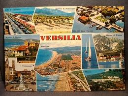 (FG.O46) VERSILIA - VEDUTE VEDUTINE (MASSA, CARRARA, FORTE DEI MARMI, LAGO PUCCINI, CAMAIORE, VIAREGGIO) Viaggiata - Massa