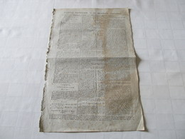 REVOLUTION FRANCAISE - MARAT A LA CONVENTION - MARS 1793. - Zeitungen - Vor 1800