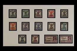 1945 - 1957 HIGHLY COMPLETE USED COLLECTION Fresh And Attractive Collection Including 1945 Stamps Of India Ovptd Set, 19 - Kuwait