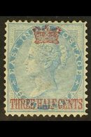 1867 1½c On ½a Blue (Die I), SG 1, Very Fine Mint For More Images, Please Visit Http://www.sandafayre.com/itemdetails.as - Straits Settlements
