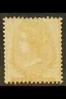 1860 ½d Buff On Thin Hard White Paper, SG 3, Very Fine Mint, Part Og. For More Images, Please Visit Http://www.sandafayr - Malta (...-1964)
