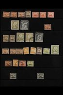 1899-1930 ATTRACTIVE RANGES On Stock Pages, Mint & Used, Includes 1899-1901 Set Mint Incl 5d (x3) And 4½d (x2), 2s6d (x2 - Malta (...-1964)
