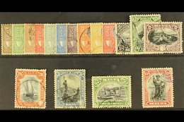 1930 Postage And Revenue Set, SG 193/209, Good To Fine Used (½d Is Mint, 2/6 Couple Short Perfs). (17 Stamps) For More I - Malta (...-1964)