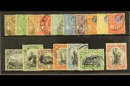 """1930 St Paul Set Inscribed """"Postage/Revenue"""", SG 193/209 Complete, Fine To Very Fine Used. (17 Stamps) For More Images,  - Malta (...-1964)"""