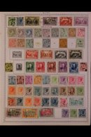 1880-1980 ALL DIFFERENT COLLECTION. An Attractive,ALL DIFFERENT Mint & Used Collection On Printed Pages, Many Complete  - Monaco