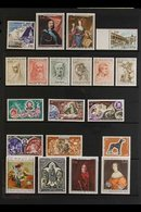 1963-1994 ALL DIFFERENT NEVER HINGED MINT COLLECTION. A Beautiful Collection Of Never Hinged Mint Issues, Chiefly As Com - Monaco
