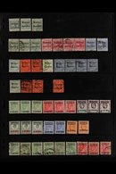 1898-1957 MINT & USED COLLECTION/ACCUMULATION With Light Duplication And Blocks Presented On Stock Pages, Includes GIBRA - Morocco (1891-1956)