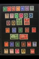 1949-56 COMPLETE MINT COLLECTION Presented On A Stock Page, SG 77/111, Very Fine Mint (35 Stamps) For More Images, Pleas - Morocco (1891-1956)