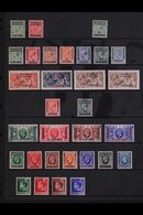 SPANISH 1912-55 ALL DIFFERENT MINT Collection, Mainly Of Complete Sets, Presented On A Pair Of Stock Pages That Includes - Morocco (1891-1956)