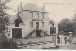 - 87 - CPA - SAINT-HILAIRE-LA-TREILLE - Maison COURTOIS - 282 - Autres Communes