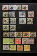 1901 - 1932 USED LAKATOI SELECTION Useful Range Including 1901 Wmk Horizontal Values To 1s Black And Orange, Wmk Vertica - Papua Nuova Guinea