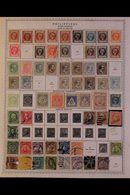1862-1993 ALL DIFFERENT COLLECTION. An Extensive,ALL DIFFERENT Mint & Used Collection, Presented On Printed Pages With  - Philippines