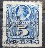 COLUMBUS-5 C-ERROR STAR-CHILE - 1878-1899 - Chile