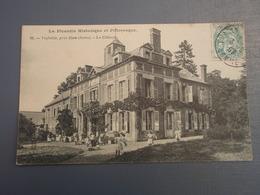 Cpa Viefville, Près De Ham Le Château. 1907, Belle Carte ,animée - Francia