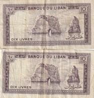 10 Livres X2 - Libanon