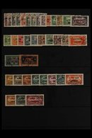 LATAKIA 1931 Complete Country Collection Including Airs And Postage Dues, Very Fine Used. (35 Stamps) For More Images, P - Syria