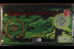 1995-99 COIN COVERS COLLECTION ALL DIFFERENT Presented In A Cover Album, Includes The 1995 £1 Coin For Northern Ireland, - Great Britain
