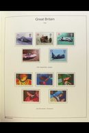 """1971-98 NEVER HINGED MINT COLLECTION. (FACE £120+) An Attractive, ALL DIFFERENT Collection Presented In An SG """"Windsor  - Great Britain"""