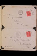 1939-48 COVERS & CARDS ASSEMBLY. An Interesting Collection Of Mostly Wartime Mail Addressed Mainly To Welsh Addresses F - Great Britain