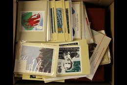 PHQ CARD COLLECTION 1980's To 2015. Apparently All Different Collection Of Sets Presented In Three Dedicated Albums & A  - Great Britain