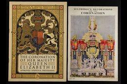 CORONATION SOUVENIR PROGRAMME & BOOKLETS. 1937 'Selfridge's Decorations For The Coronation' Colour Illustrated Booklet,  - Great Britain