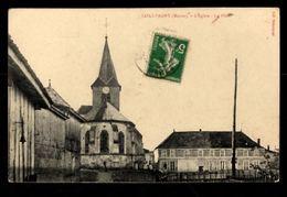51 - COULVAGNY (Marne) - L'Eglise - La Place - France