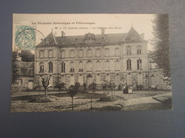 Cpa Le Quesnel Le Château (Vue Nord). 1907, Belle Carte. - Francia