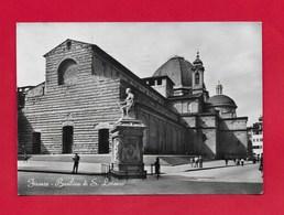 CARTOLINA VG ITALIA - FIRENZE - Basilica Di S. Lorenzo - 10 X 15 - ANN. 1955 - Firenze