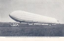 Zeppelin - Aufn. V.5.8.1908 V.Hofphotograph Hans Hildenbrand         (A-78-160419) - Dirigeables