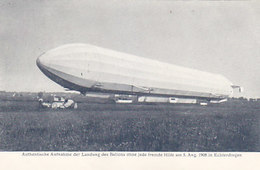 Zeppelin - Aufn. V.5.8.1908 V.Hofphotograph Hans Hildenbrand         (A-78-160419) - Zeppeline