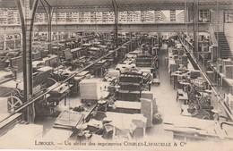- 87 - CPA - LIMOGES - Un Atelier Des Imprimeries CHARLES-LAVAUZELLE & Cie - 036 - Limoges