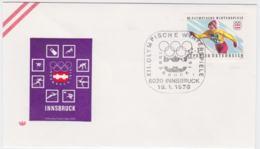 Austria Cover 1976 Olympic Games Innsbruck  - Innsbruck (G99-36) - Winter 1976: Innsbruck