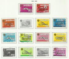 Antilles Néerlandaises N°694 à 696, 698, 699, 717 à 719, 722, 819, 820  Cote 12.50 Euros - Curacao, Netherlands Antilles, Aruba
