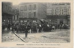 PF752 - 23 Aubusson - Inondations Du 9 Juin 1911 - Place De L'Ancienne Halle - Aubusson