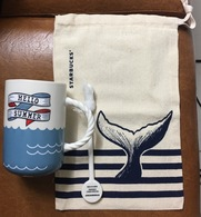 Vietnam Starbucks SUMMER SEASON 12 Oz Cup / Mug Plus Bag - Brand New - Other