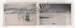 2 PHOTOGRAPHIES ORIGINALES NOTEES ALBARINE BELLIGNEUX - 01 AIN SANATORIUM A HAUTEVILLE LOMPNES - Lieux
