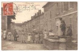 CPA 55 VOID - La Rue Louvière - Animation - Enfants - Garde Champêtre Avec Tambour - Frankrijk