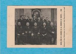 Troyes, 1910. Noces D'Or De L'Œuvre De La Jeunesse De Troyes, 1908. Conseil Des Vétérans Et Conseil Des Sociétaires 1908 - Troyes