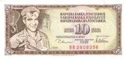 10 Dinar Jugoslawien 1978 UNC (I) - Jugoslawien